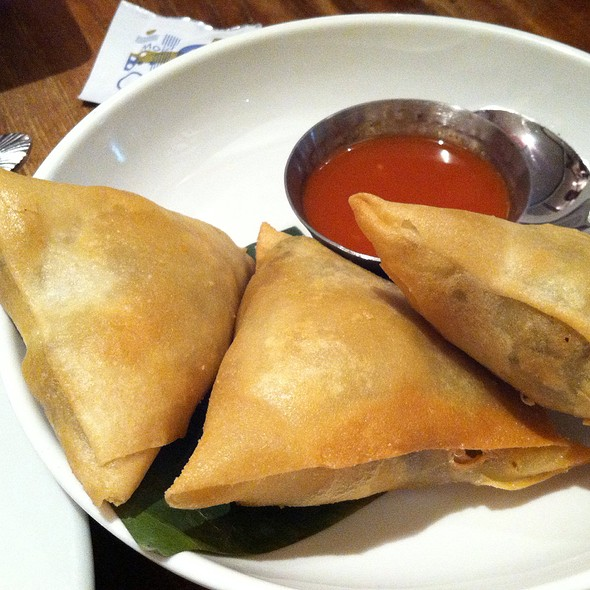 Samusas @ Burma Superstar Restaurant