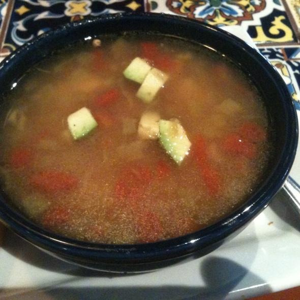 Chicken & Green Chili Soup @ Chili's Grill & Bar