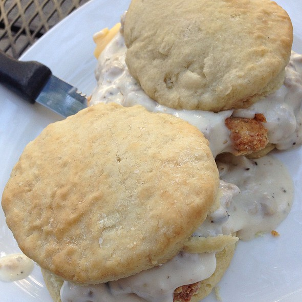 Fried Chicken And Biscuit Sliders @ Americana