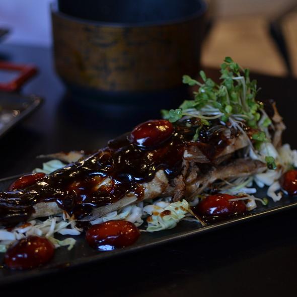 Baked Fish - Sushi Bushido, Kapaa, HI