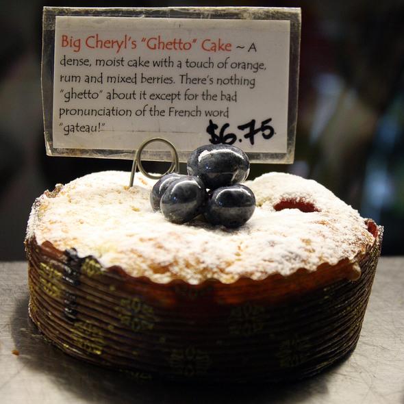 Big Cheryl's Ghetto Cake @ Pix Patisserie