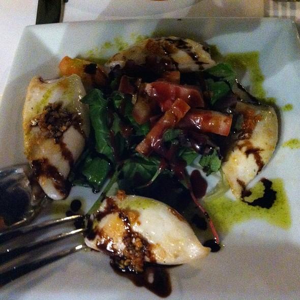 Squid Salad With Garlic Honey Balsamic Dressing @ Restaurante La Siesta