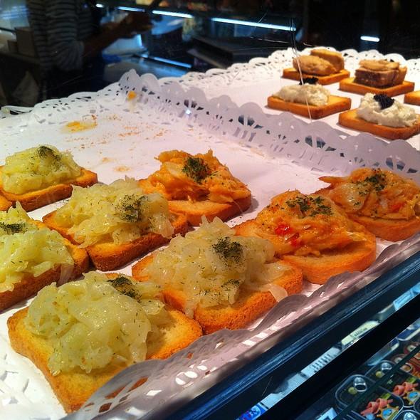 Marinated Cod On Toast @ Market of San Miguel