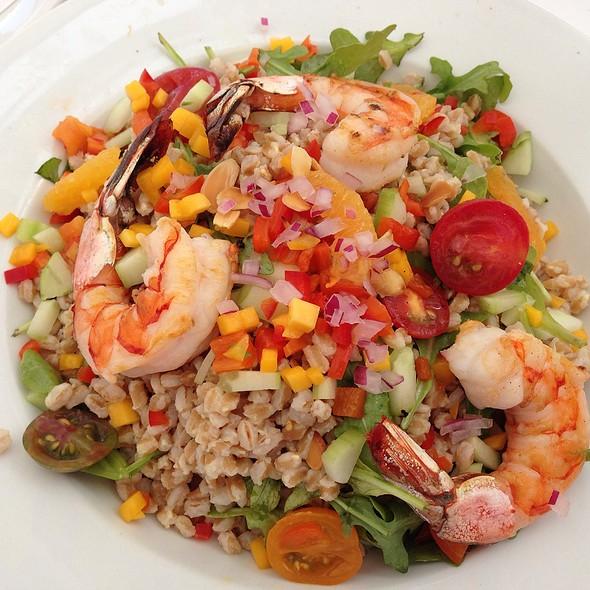 Summer Farro Salad With Gulf Shrimp - Eddie V's - La Jolla, San Diego, CA