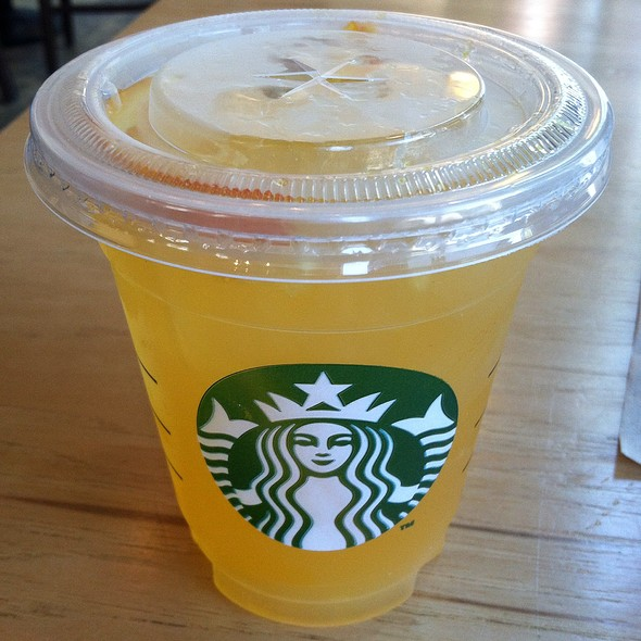 Valencia Orange @ Starbucks