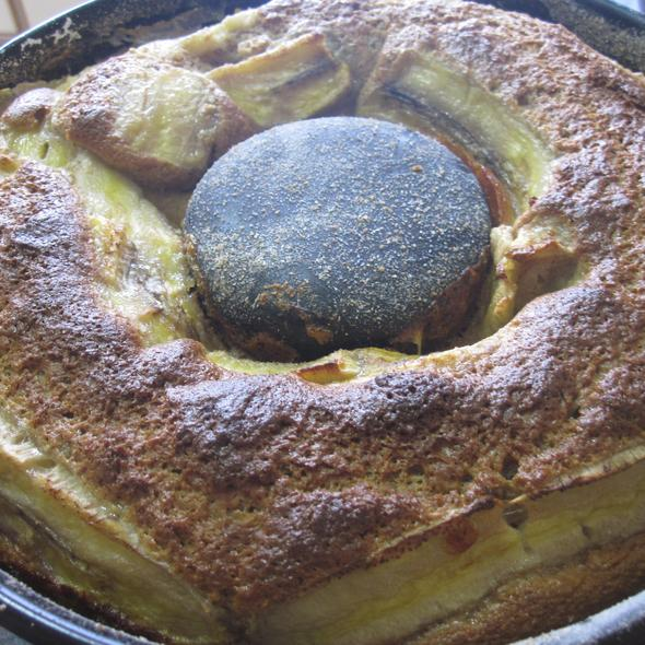 Bolo de banana integral @ Homemade by Clau