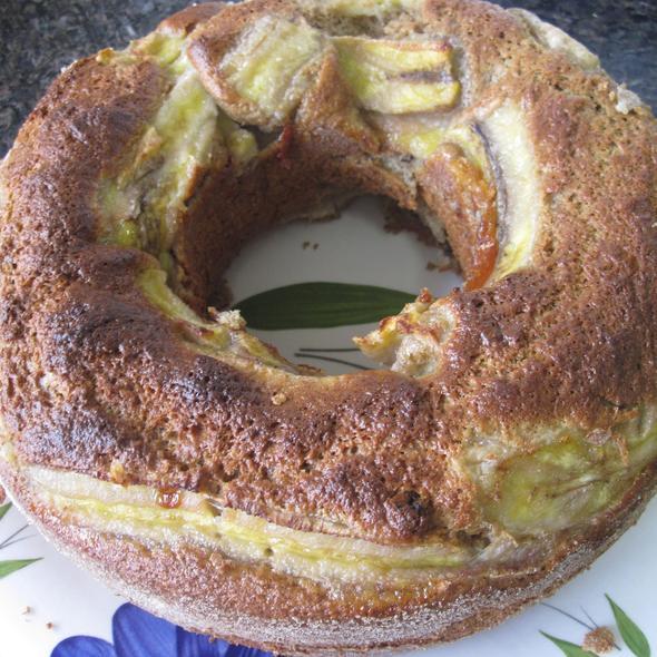 Bolo de banana integral @ Homemade by Clau