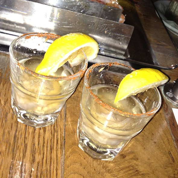 Boh And Old Bay Oyster Shooters @ Thames Street Oyster House
