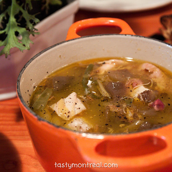 Vegetable Soup @ Cabane à sucre au pied de cochon