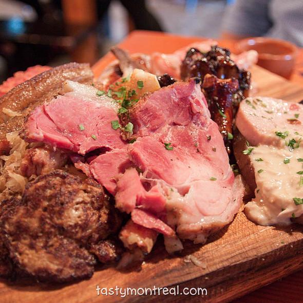 Meat Platter @ Cabane à sucre au pied de cochon