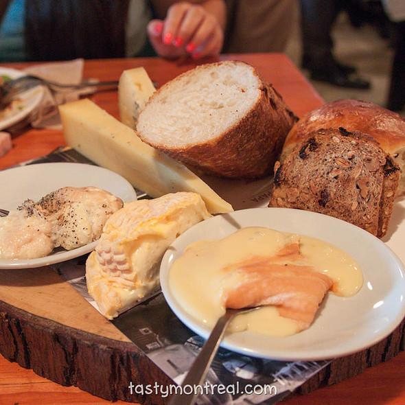 Cheese Platter @ Cabane à sucre au pied de cochon