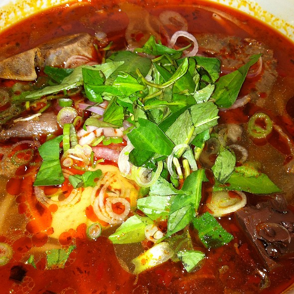 spicy beef noodle @ Hai Duong Pho