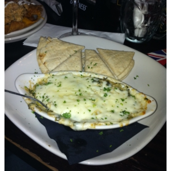 Spinach And Artichoke Dip @ Pub At Pembroke Pines