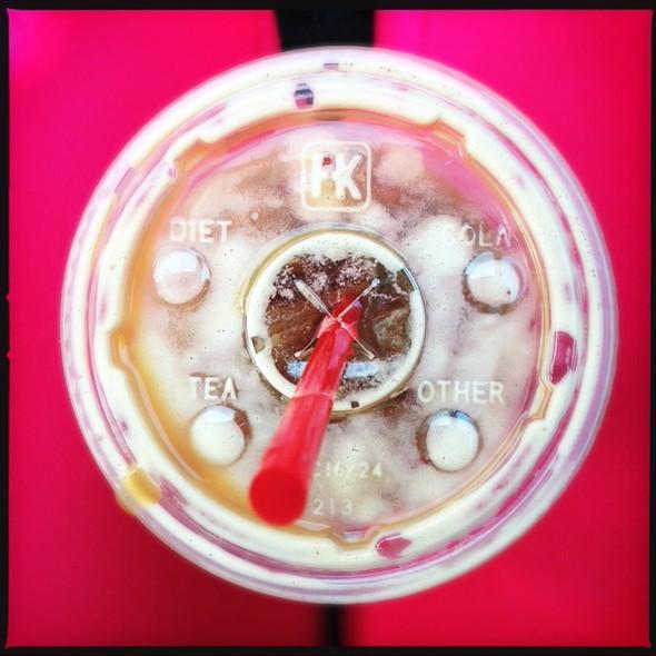 Iced Latte @ San Francisco Coffee Roasting Co.