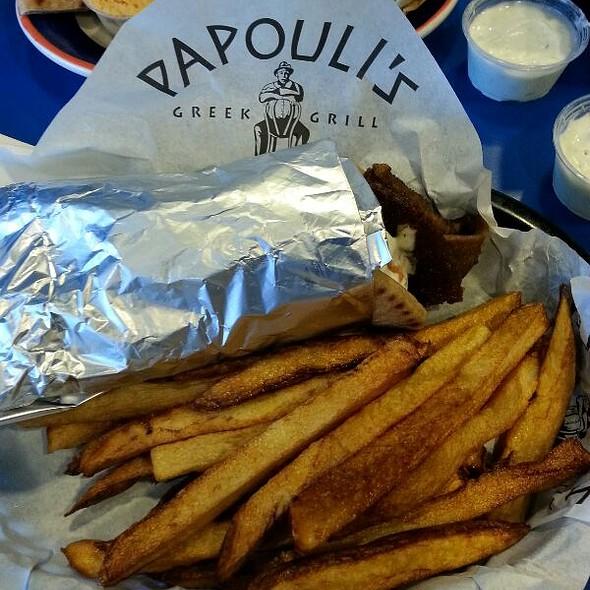 Gyros @ Papouli's Greek Grill