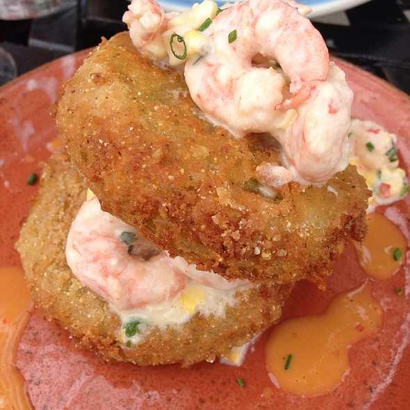 Fried Green Tomatoes - Carriage House, Chicago, IL