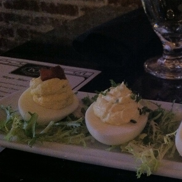 Deviled Eggs @ POP Champagne and Dessert Bar