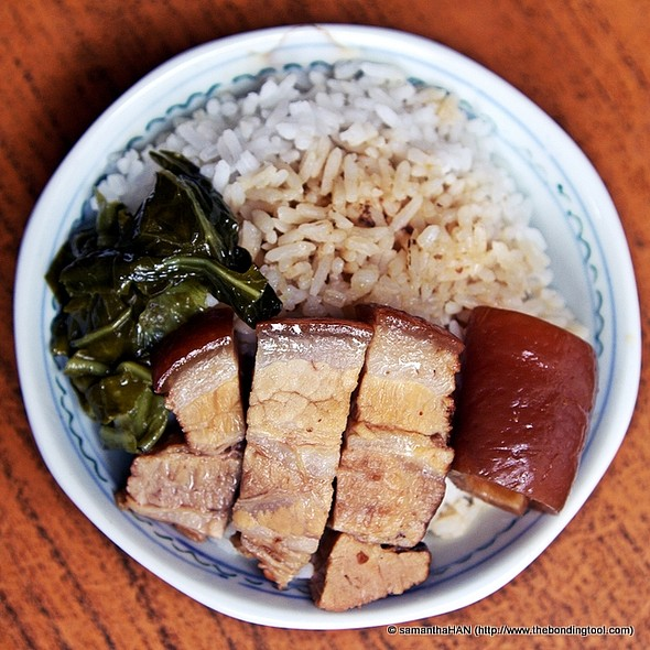 braised pork belly with rice @ Hua Mei Ah Bee Bak Kut Teh 华美亞B肉骨茶