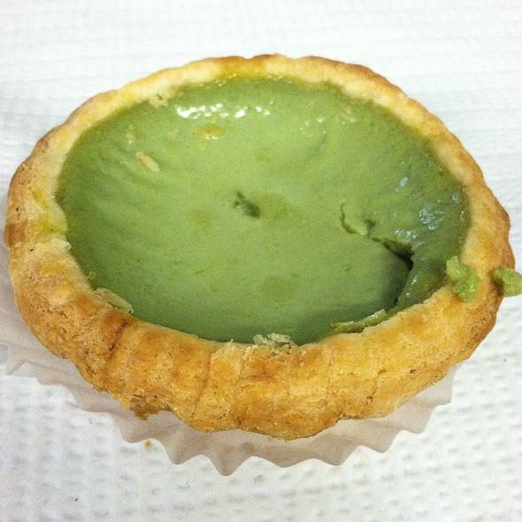 Green Tea Egg Tart @ Taipan Bakery