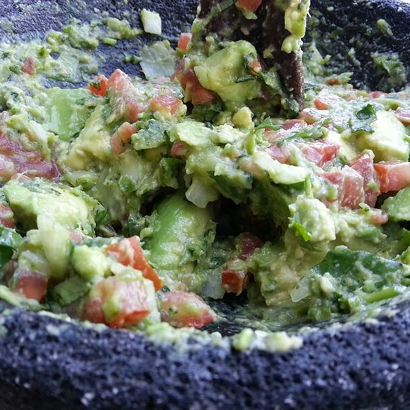 Guacamole En Molcajete @ Rosa Mexicano
