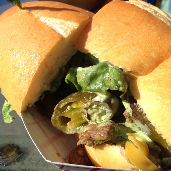 Pedro's Favorite Tri-Tip Sandwich @ Brazil Fresh Squeeze Cafe