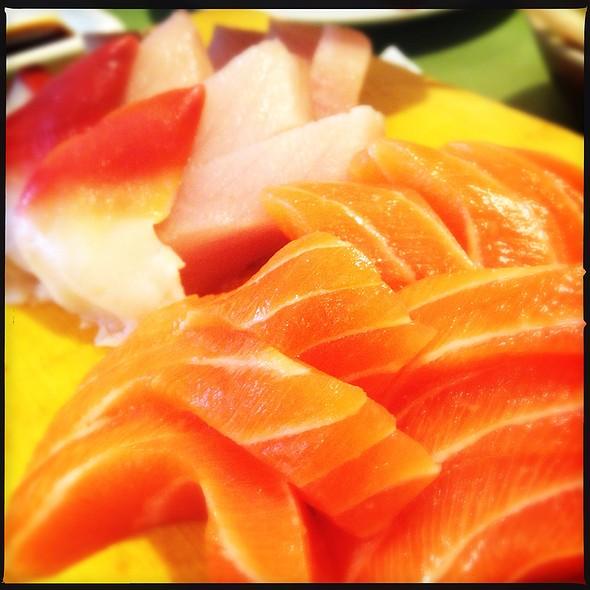 assorted sashimi @ Kingsway Sushi