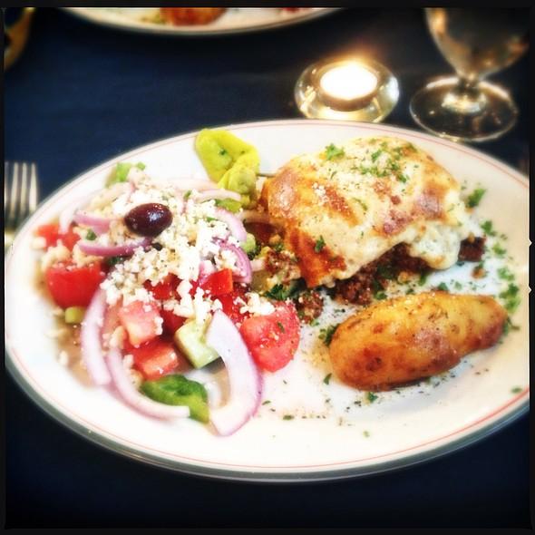 Moussaka @ La Casa Ouzeria Restaurant