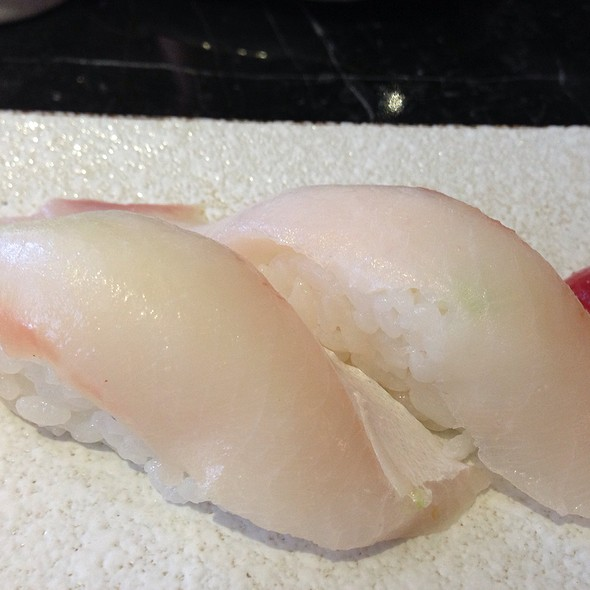 Seabream Nigiri @ Yamamori Sushi Ltd