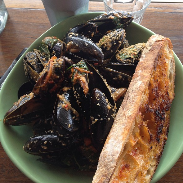 Mussels And Clams With Coconut And Chilli Sambal @ Three Blue Ducks