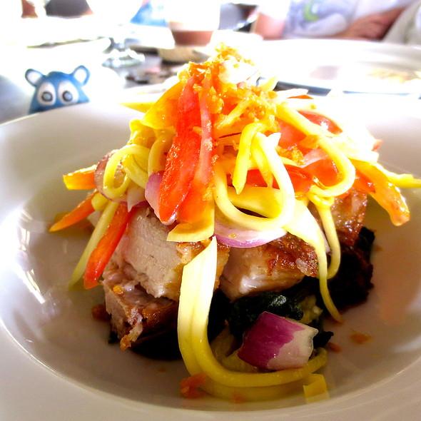 Crispy Pork Binagoongan @ Amorita Resort