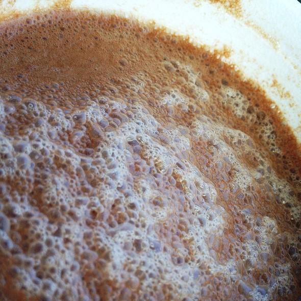 Creamy Chocolate Custard Phosphate