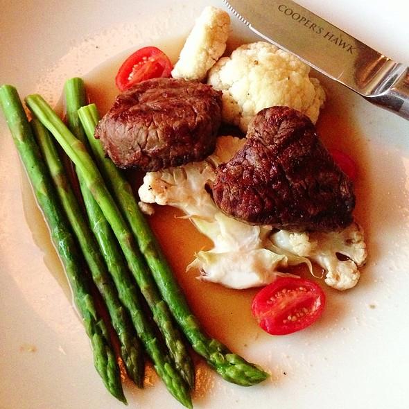 Beef Medalions @ Cooper's Hawk Winery & Restaurant