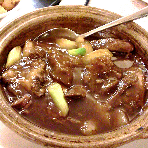 Beef Brisket And Tendon Stew