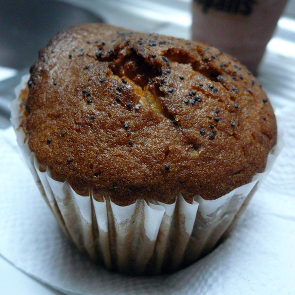 Lemon Poppyseed Muffin @ Cafe Entrepans