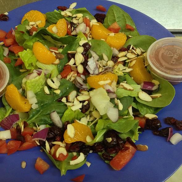 Fruit & Nut Salad @ KrisCroix's family restaurant