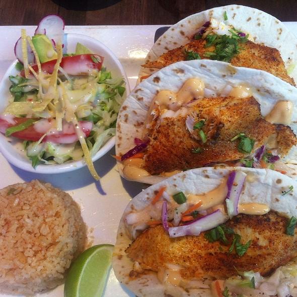 Coba cocina menu lexington ky foodspotting for Baja fish tacos menu