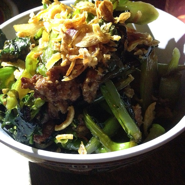 Chinese Broccoli w/ Salted Fish - Fatty Crab, New York, NY