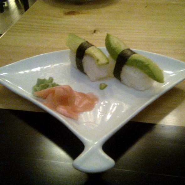 Avocado Nigiri @ Matsuri