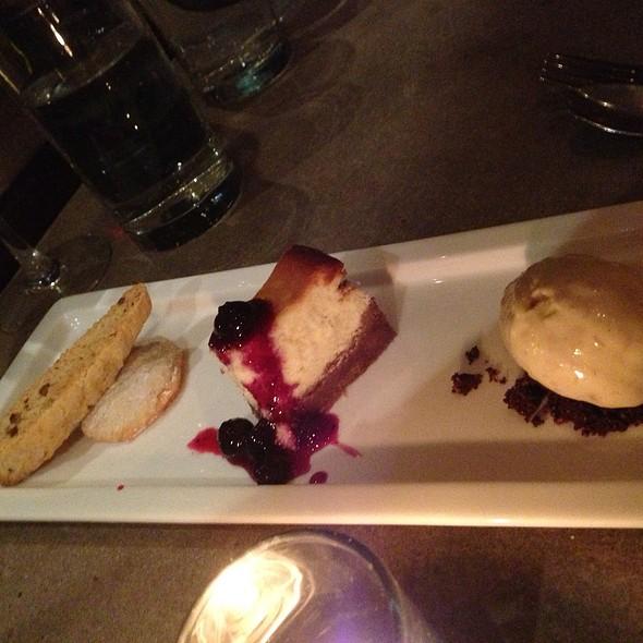 Dessert Trio - Sonoma Restaurant + Wine Bar, Washington, DC