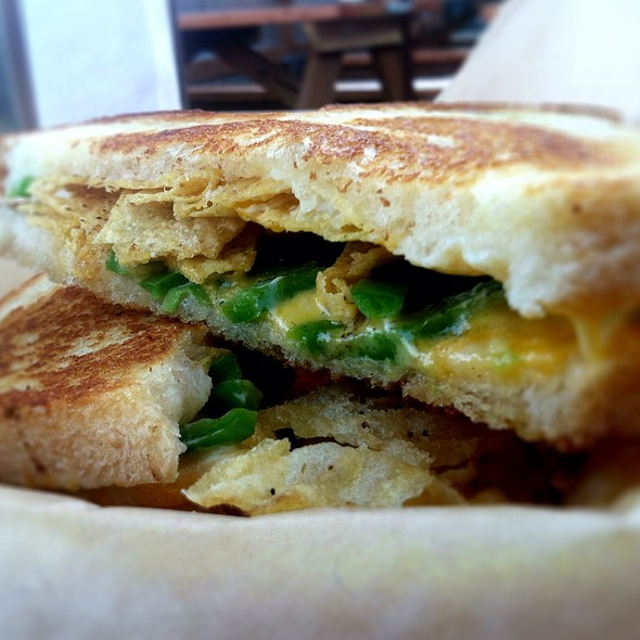 The Jalapeno Popper @ The Grilled Cheese Grill