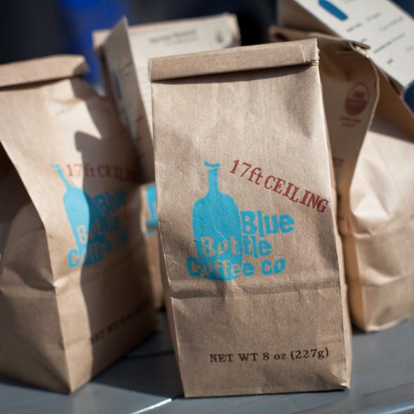 17ft Ceiling Coffee @ Blue Bottle Coffee