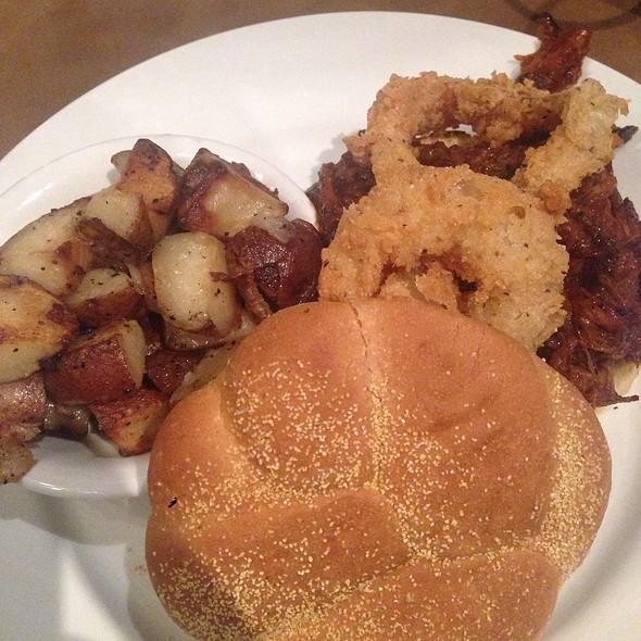 Pulled Pork Sandwich - Binkley's Kitchen & Bar, Indianapolis, IN