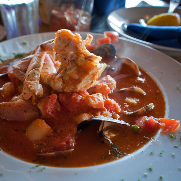 Seafood Cioppino @ Nantucket Restaurant
