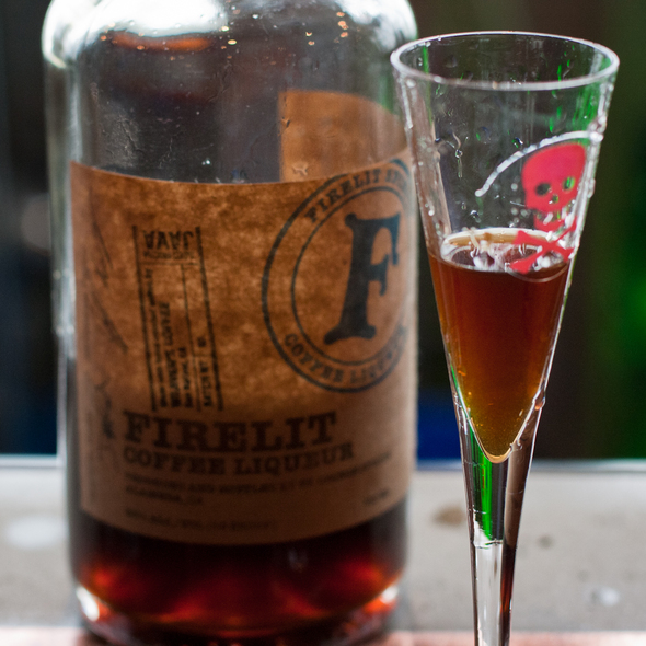 Firelit Coffee Liqueur @ St. George Spirits