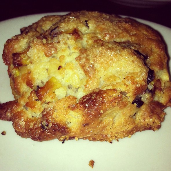Peach And Blueberry Scone @ The Smile