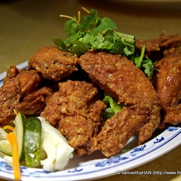 Deep Fried Shrimp Paste Chicken Wings @ 83 Seafood Restaurant