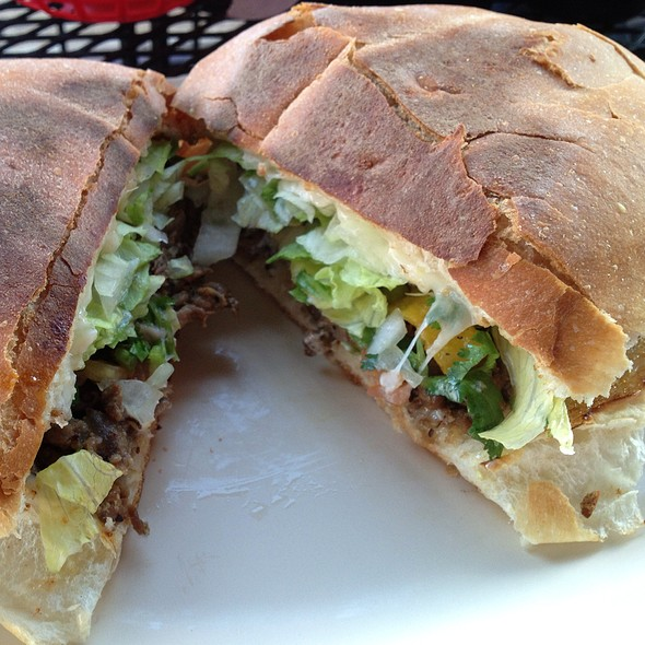 Steak Torta @ La Vallesana