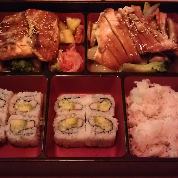 bento box @ Blue Ocean Japanese Restaurant