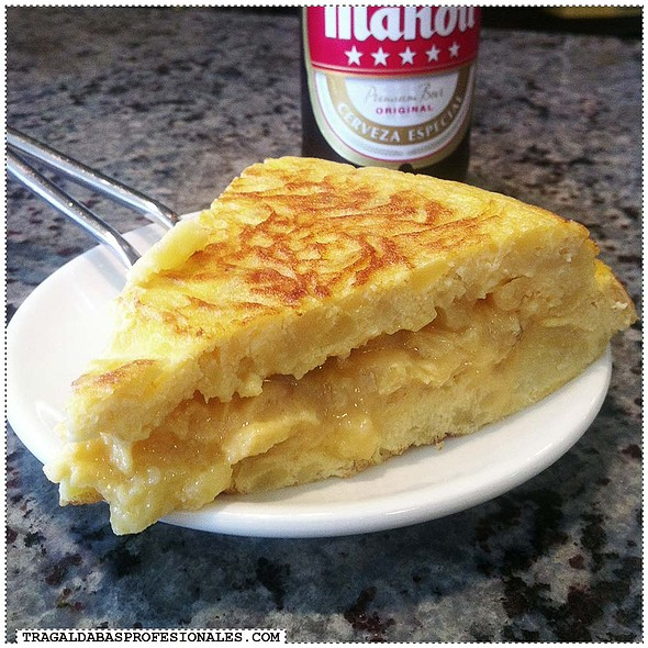 Spanish Omelette @ El Puente
