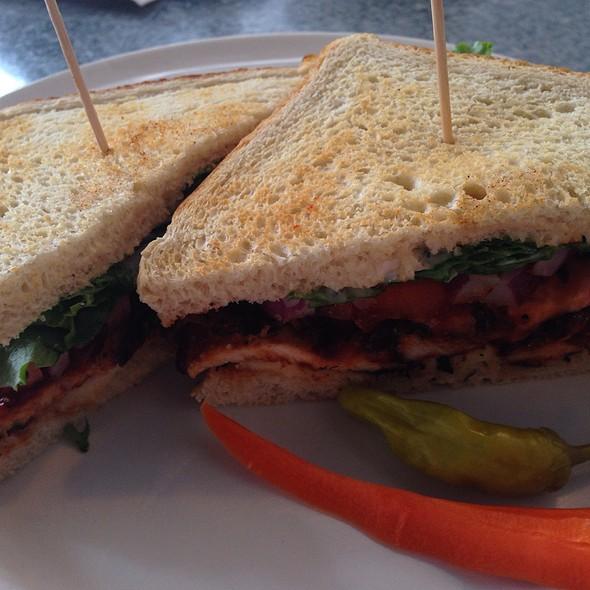 BBQ Chicken Sandwich @ Downbeat Diner and Lounge